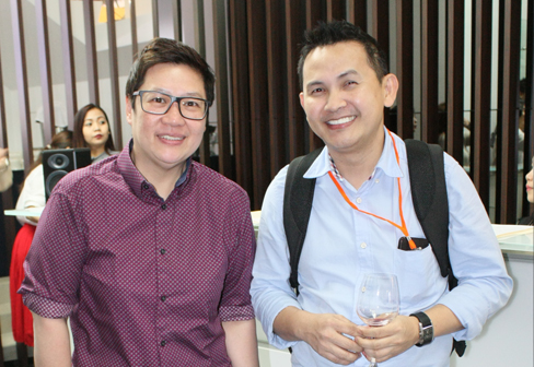 Gemma Tan, Dexterton Sales Coord. with Arch. Manuelito Vicencio of DiLeonardo Designs