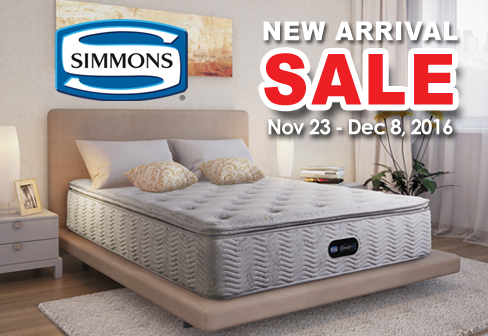 Simmons New Arrival Sale