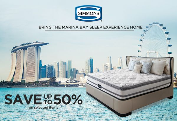 Simmons Mattress Exhibit at Rockwell Power Plant Mall