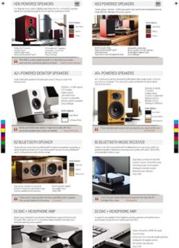 Audioengine - Product Brochure 2017