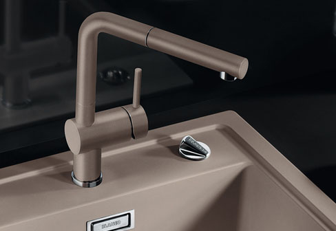 Linus-S 1-Hole Kitchen Sink Mixer